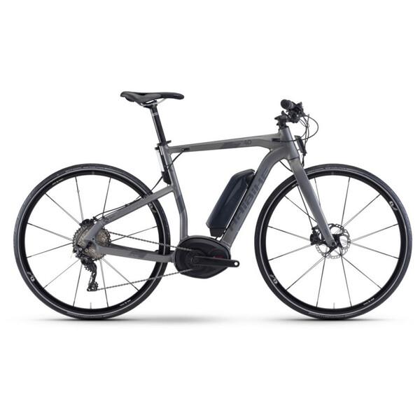 Haibike Xduro Urban 40 Electric City Bike Grey 2018